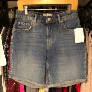 Free People Ivy Denim Shorts